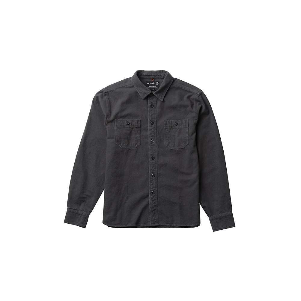 アーバー Arbor メンズ シャツ トップス【foundation chamois shirt】Vintage Black