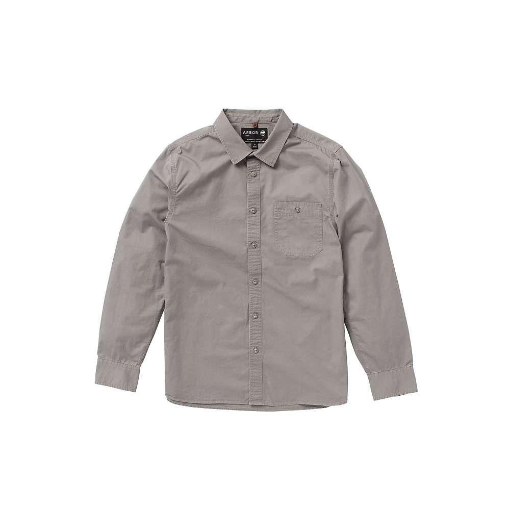 アーバー Arbor メンズ シャツ トップス【scout shirt】Light Grey