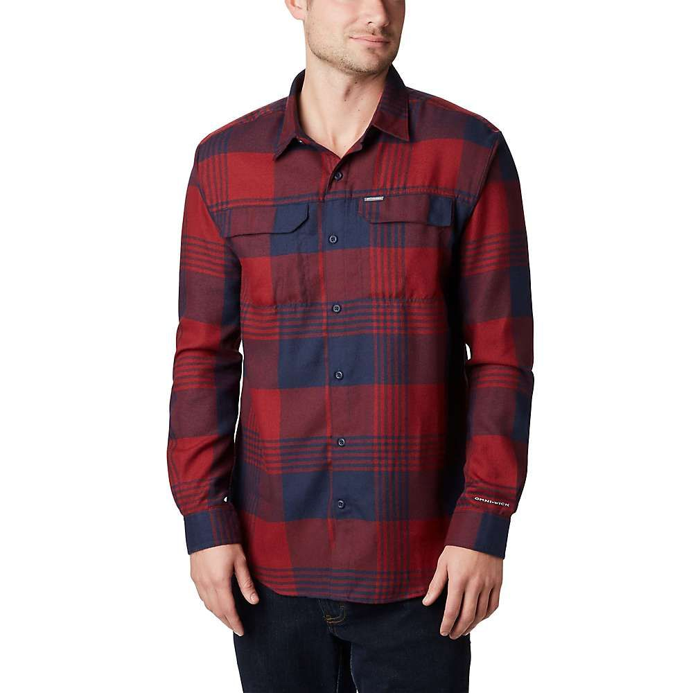 コロンビア Columbia メンズ シャツ フランネルシャツ トップス【silver ridge 2.0 flannel shirt】Columbia Navy Buffalo Plaid