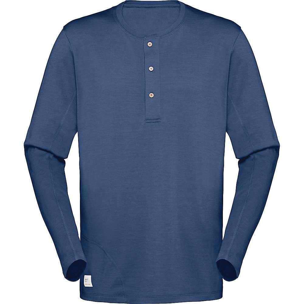 ノローナ Norrona メンズ シャツ トップス【svalbard grandpa shirt】Indigo Night