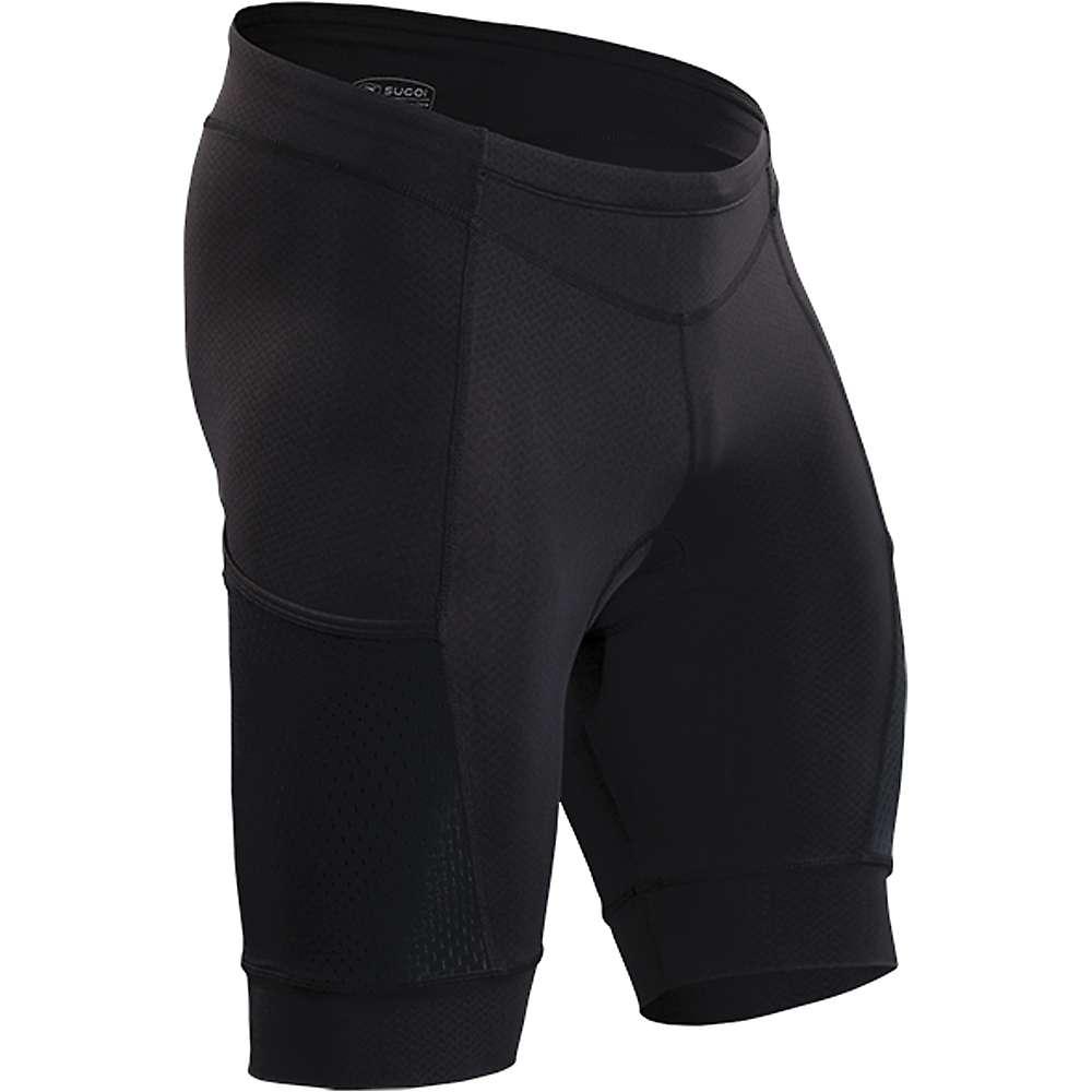 スゴイ メンズ サイクリング ウェア【Sugoi Piston 200 Tri Pocket Short】Black