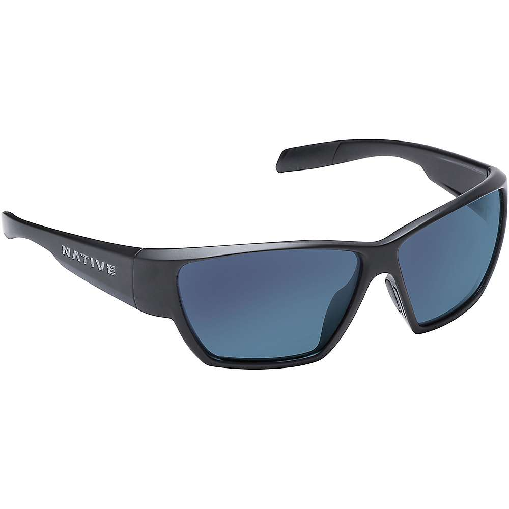 ネイティブ ユニセックス メンズ レディース アクセサリー メガネ・サングラス【Native Wolcott Polarized Sunglasses】Asphalt / Blue Reflex