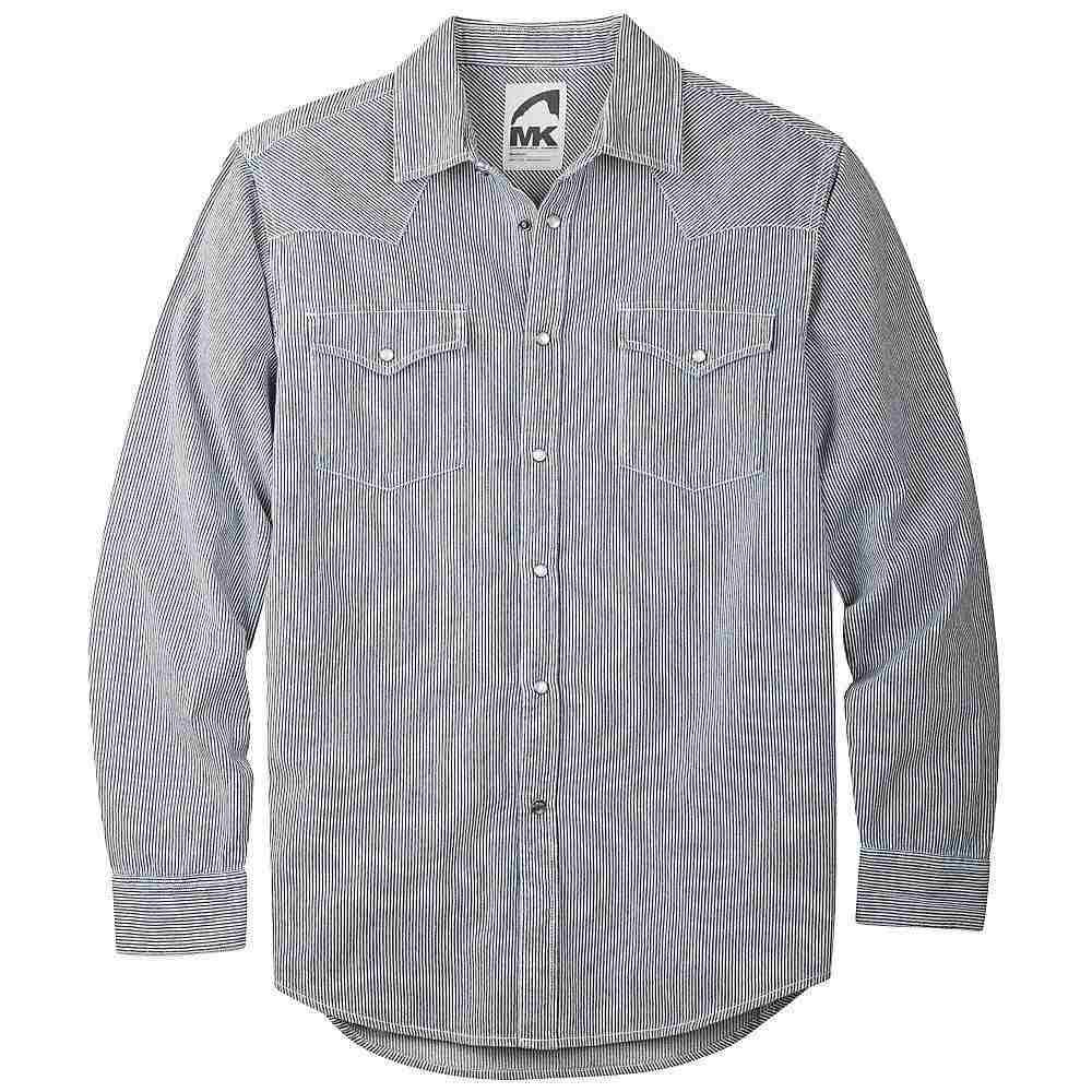 マウンテンカーキス Mountain Khakis メンズ シャツ デニム トップス【original mountain denim shirt】Railroad