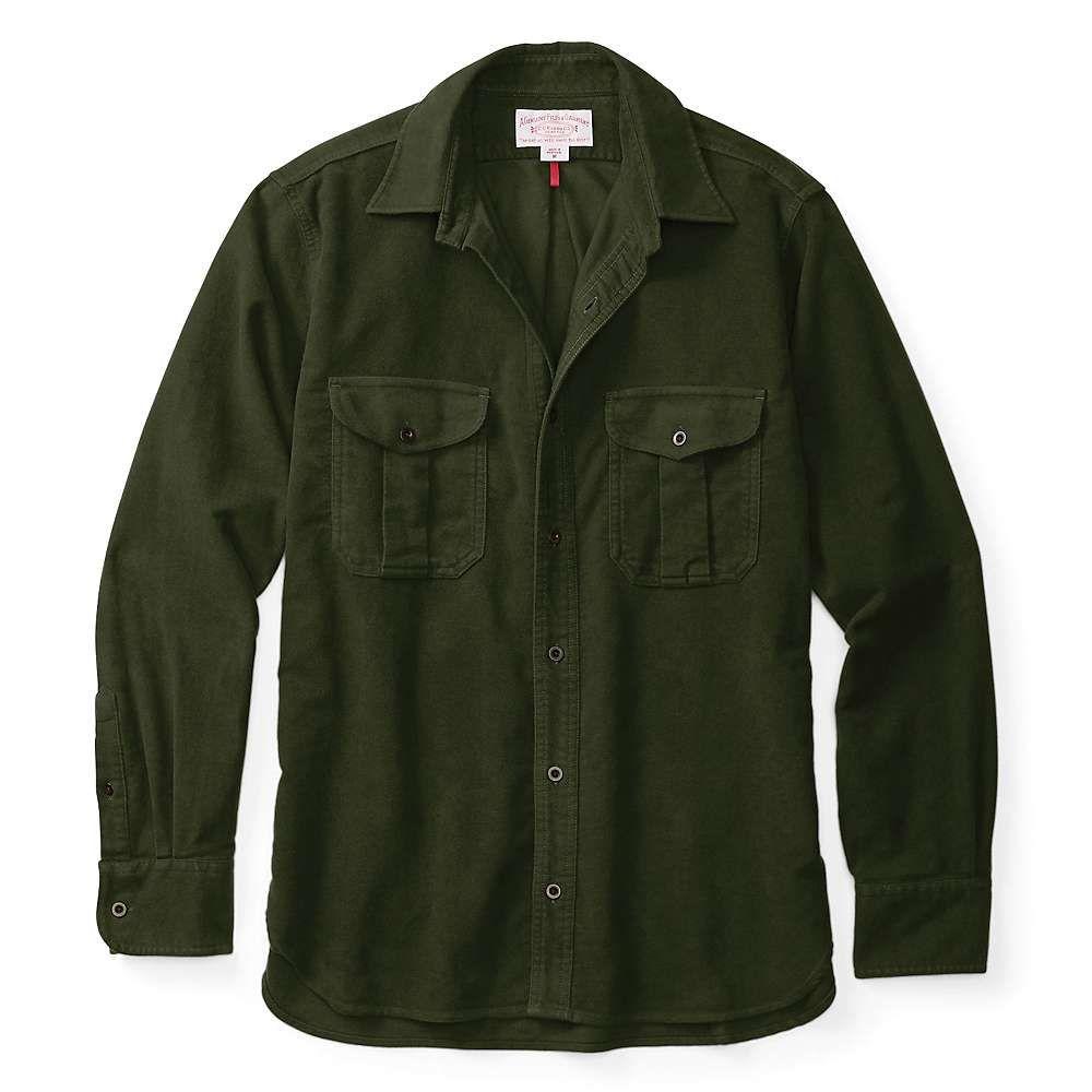 フィルソン Filson メンズ シャツ トップス【moleskin seattle shirt】Dark Olive