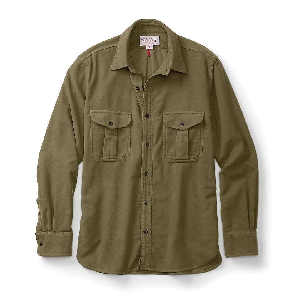 フィルソン Filson メンズ シャツ トップス【moleskin seattle shirt】Lovat