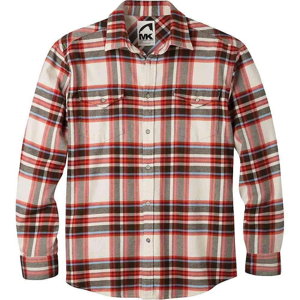 マウンテンカーキス Mountain Khakis メンズ シャツ フランネルシャツ トップス【teton flannel shirt】Cream