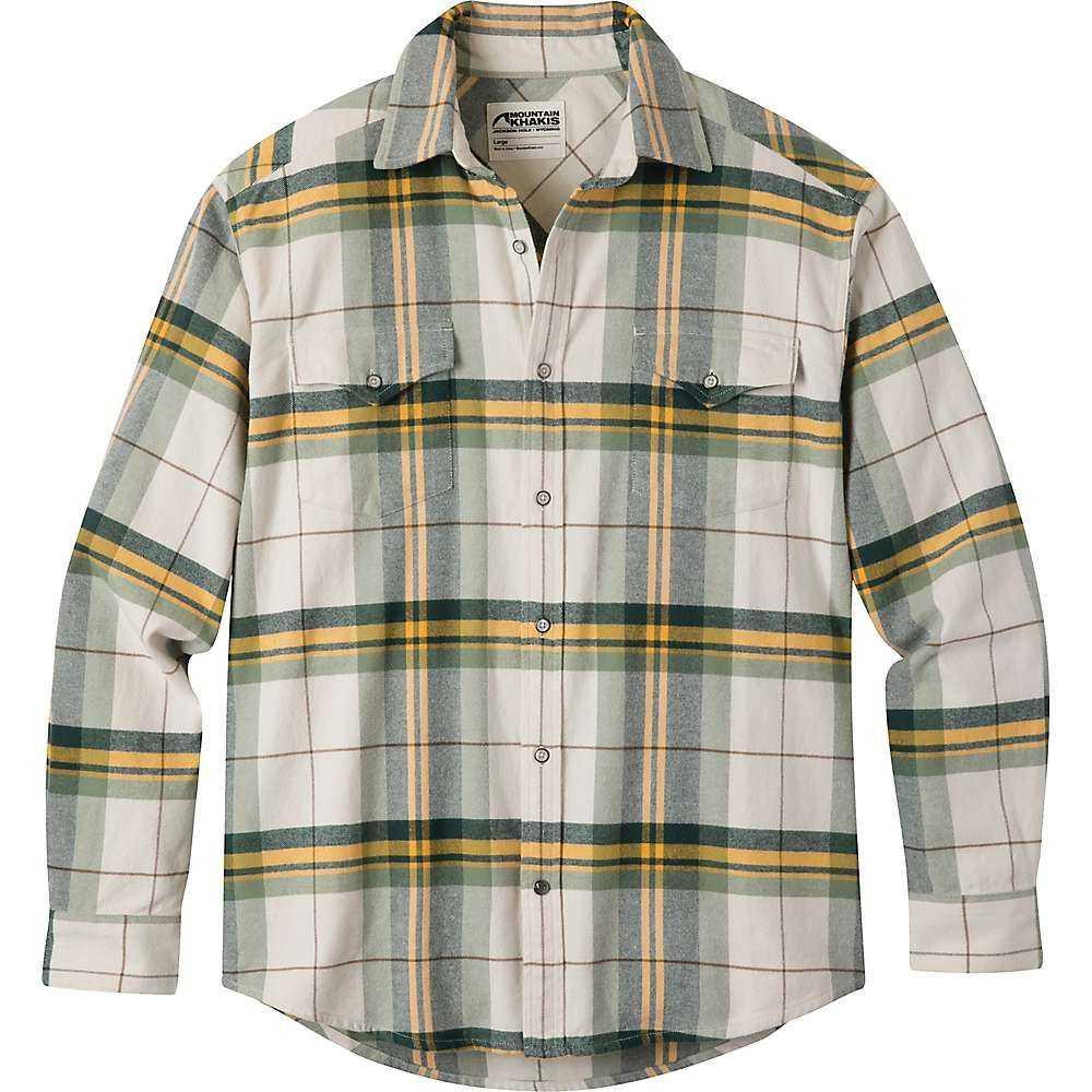 マウンテンカーキス Mountain Khakis メンズ シャツ フランネルシャツ トップス【teton flannel shirt】Powder