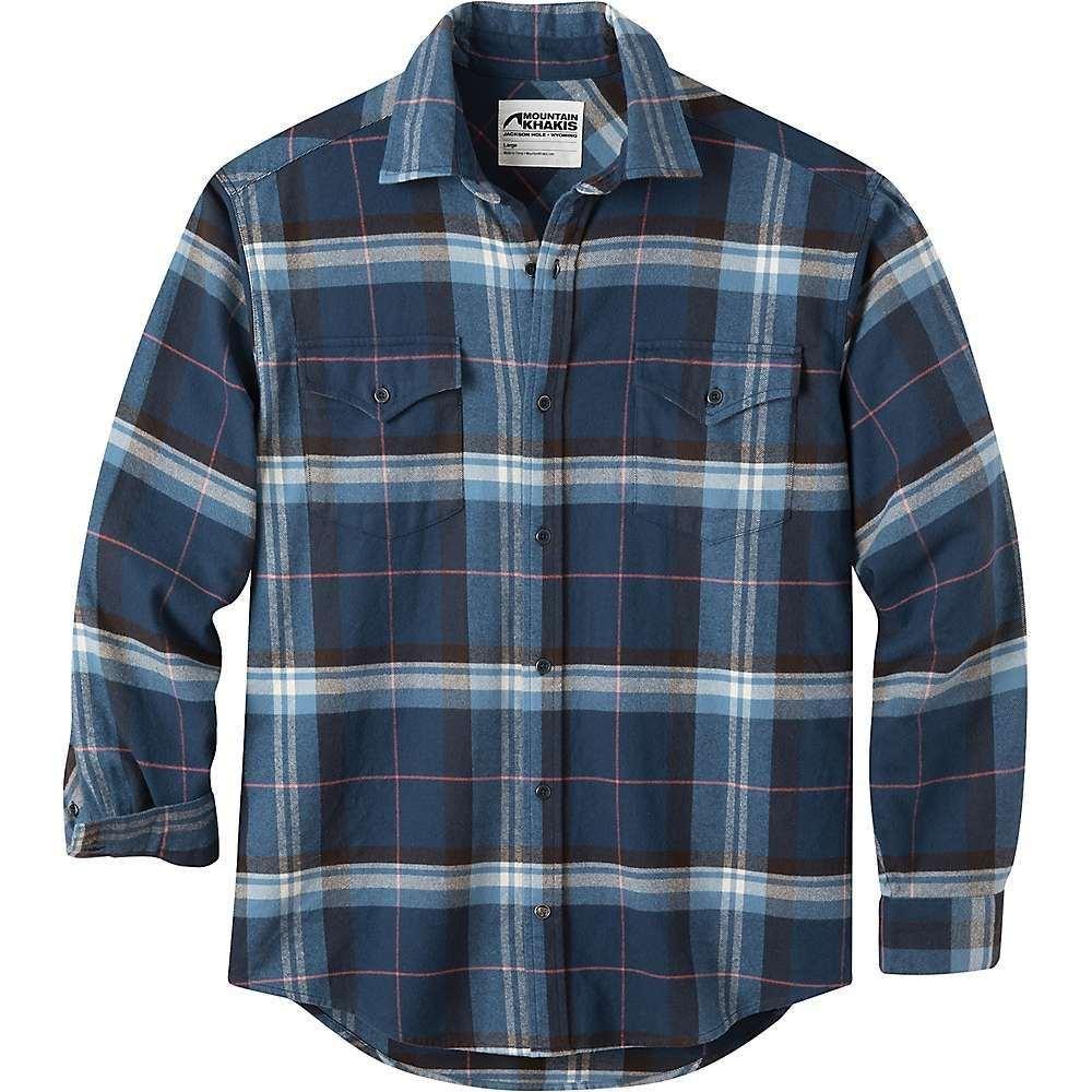 マウンテンカーキス Mountain Khakis メンズ シャツ フランネルシャツ トップス【teton flannel shirt】Twilight