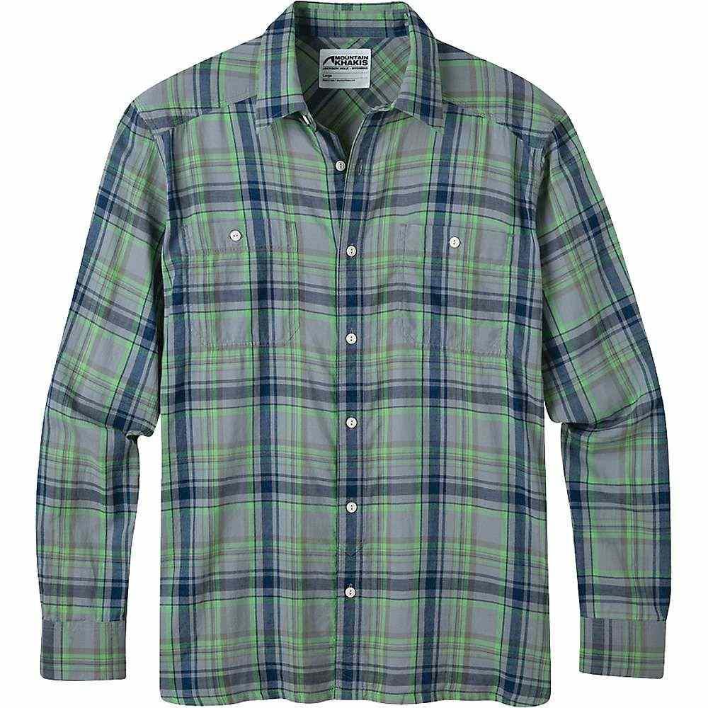 マウンテンカーキス Mountain Khakis メンズ シャツ トップス【ace indigo ls shirt】Indigo Plaid