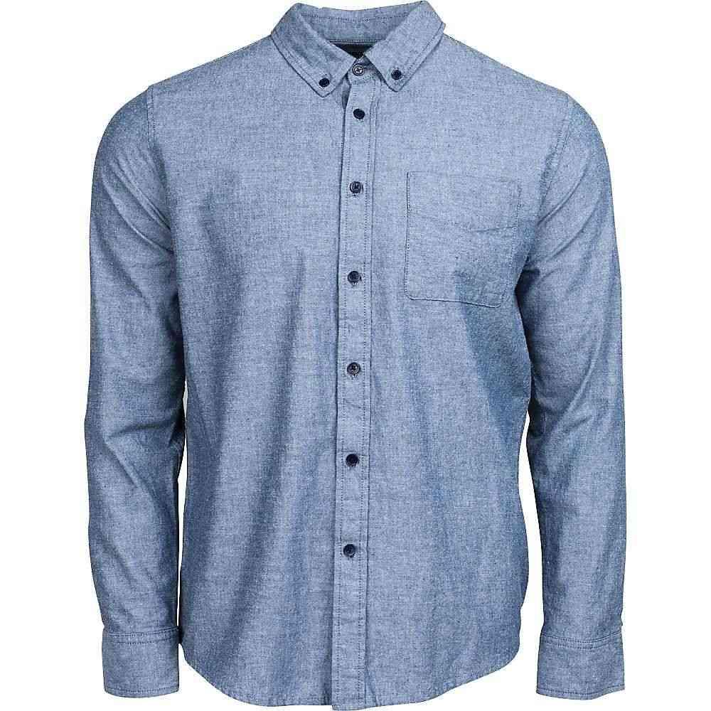 ユナイテッドバイブルー United By Blue メンズ シャツ シャンブレーシャツ トップス【bryce chambray shirt】Blue