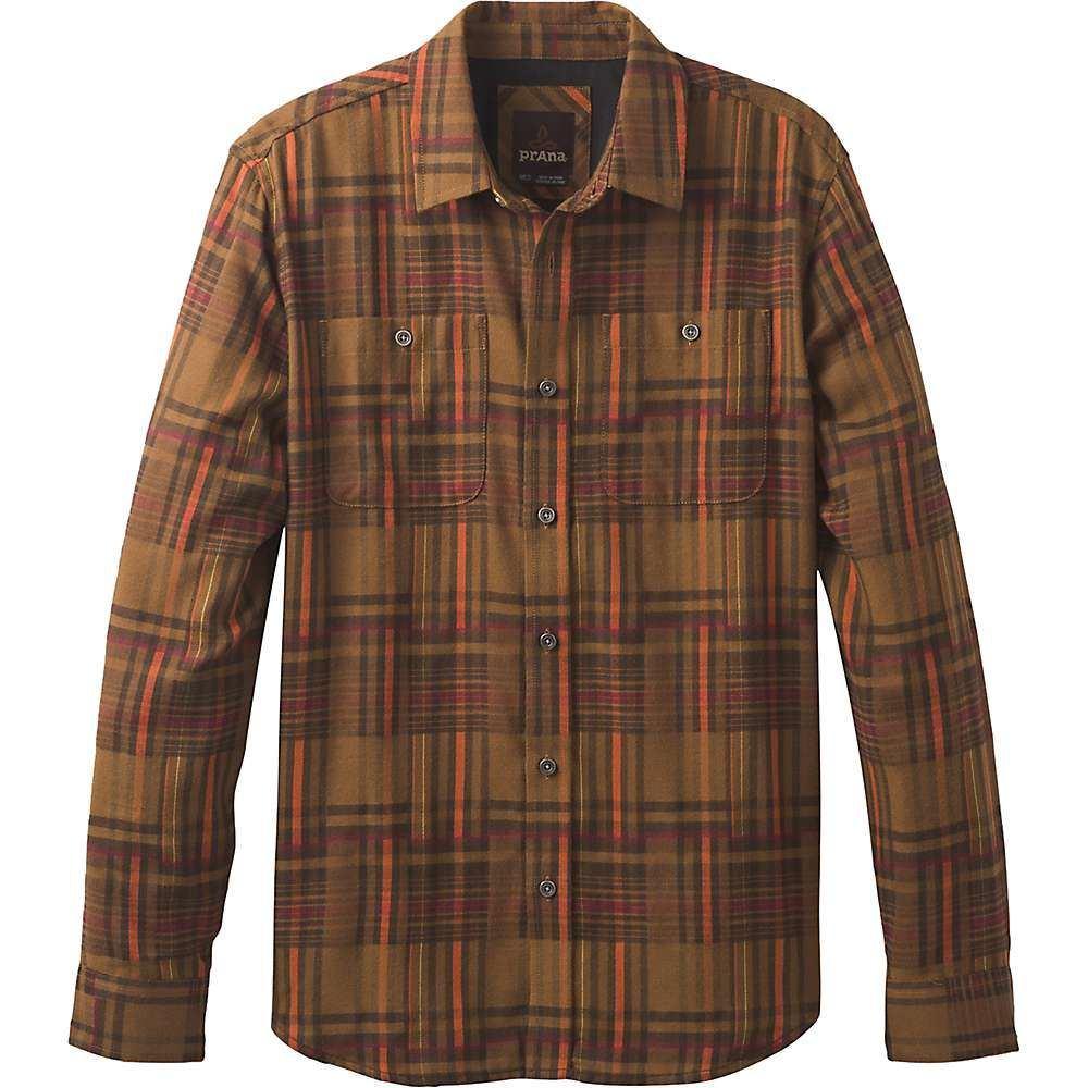 プラーナ Prana メンズ シャツ トップス【stratford ls shirt】Sepia