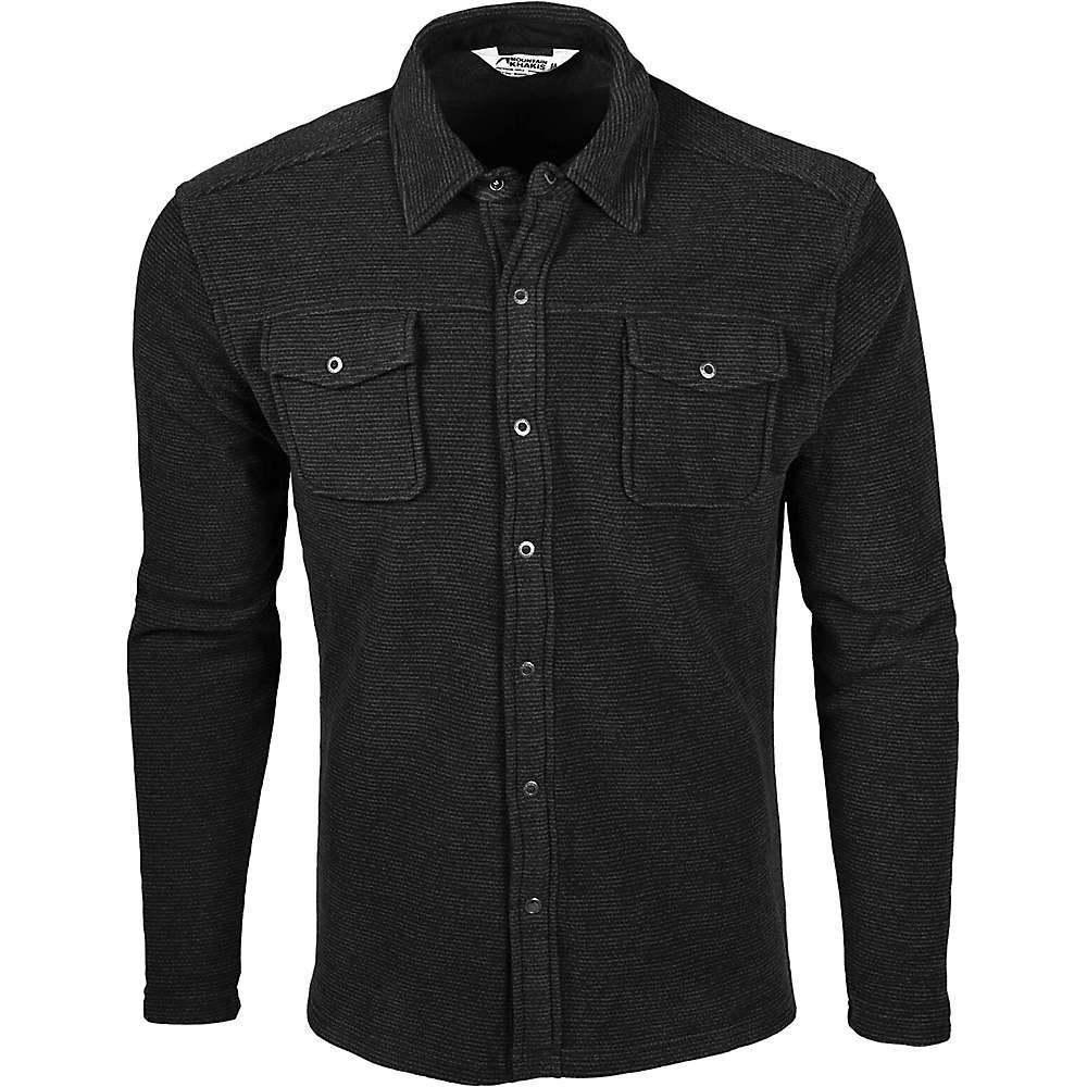 マウンテンカーキス Mountain Khakis メンズ シャツ トップス【pop top shirt】Black