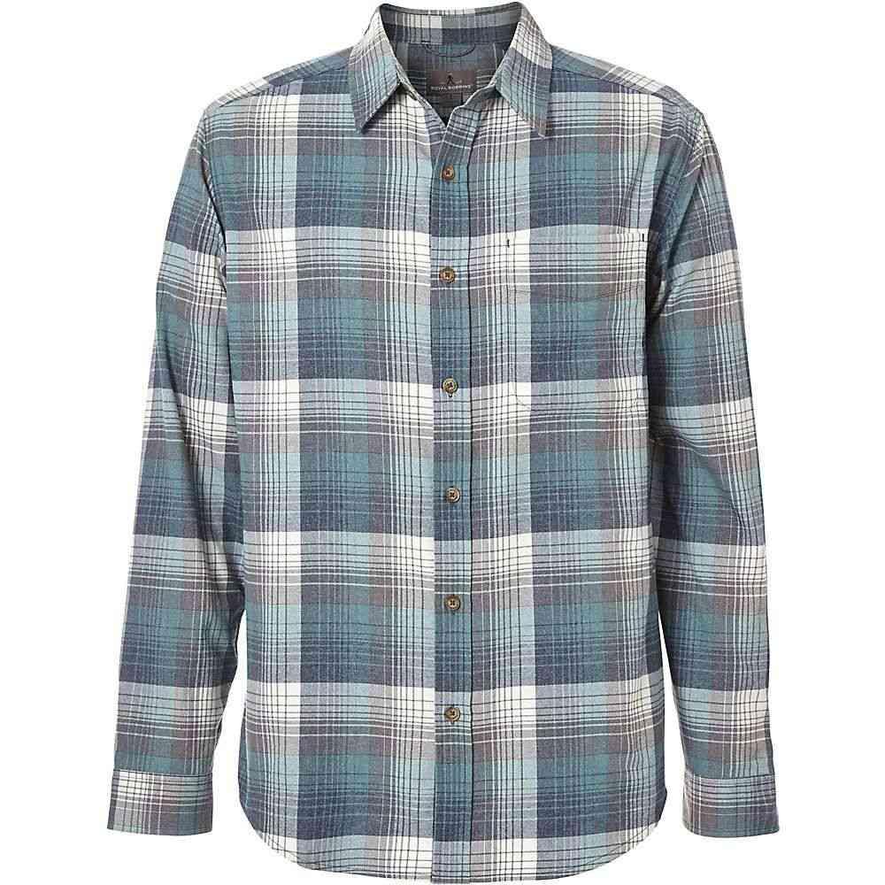 ロイヤルロビンズ Royal Robbins メンズ シャツ フランネルシャツ トップス【vintage performance flannel ls plaid shirt】Slate