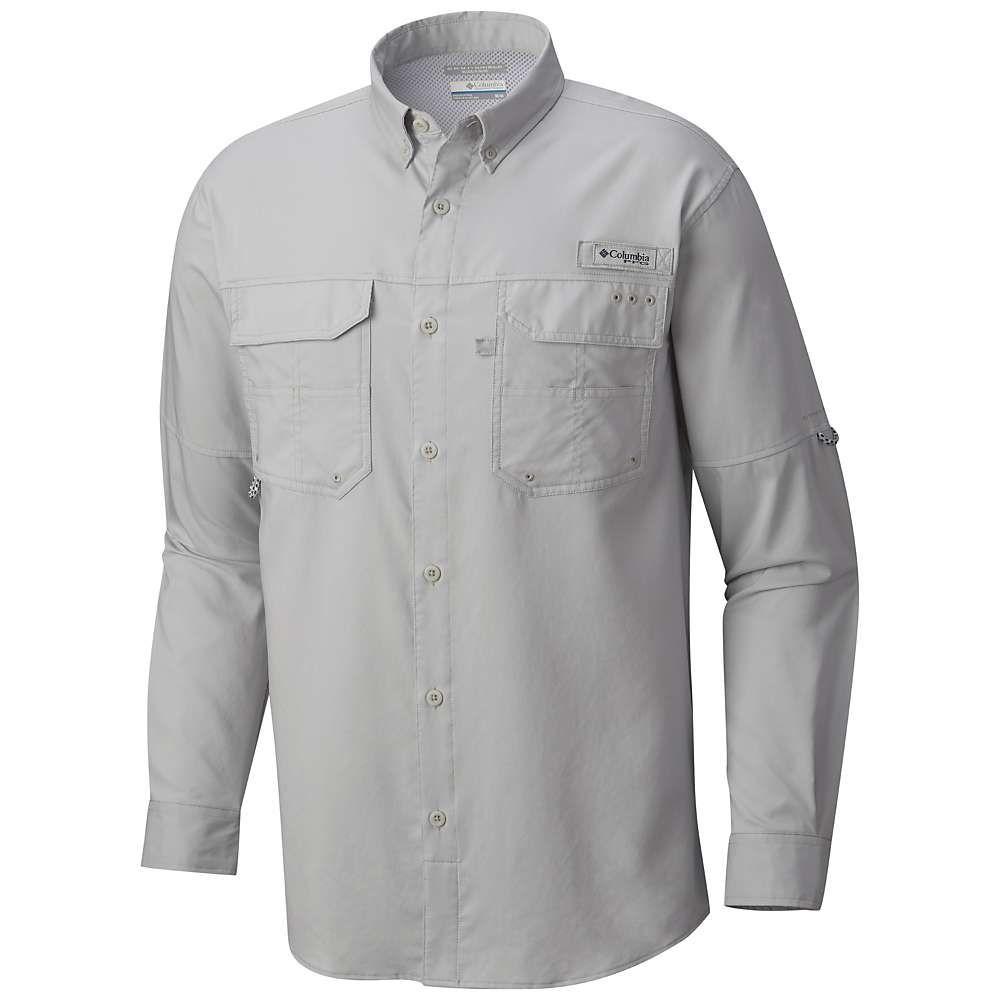 コロンビア Columbia メンズ 釣り・フィッシング トップス【blood and guts iii ls woven shirt】Cool Grey