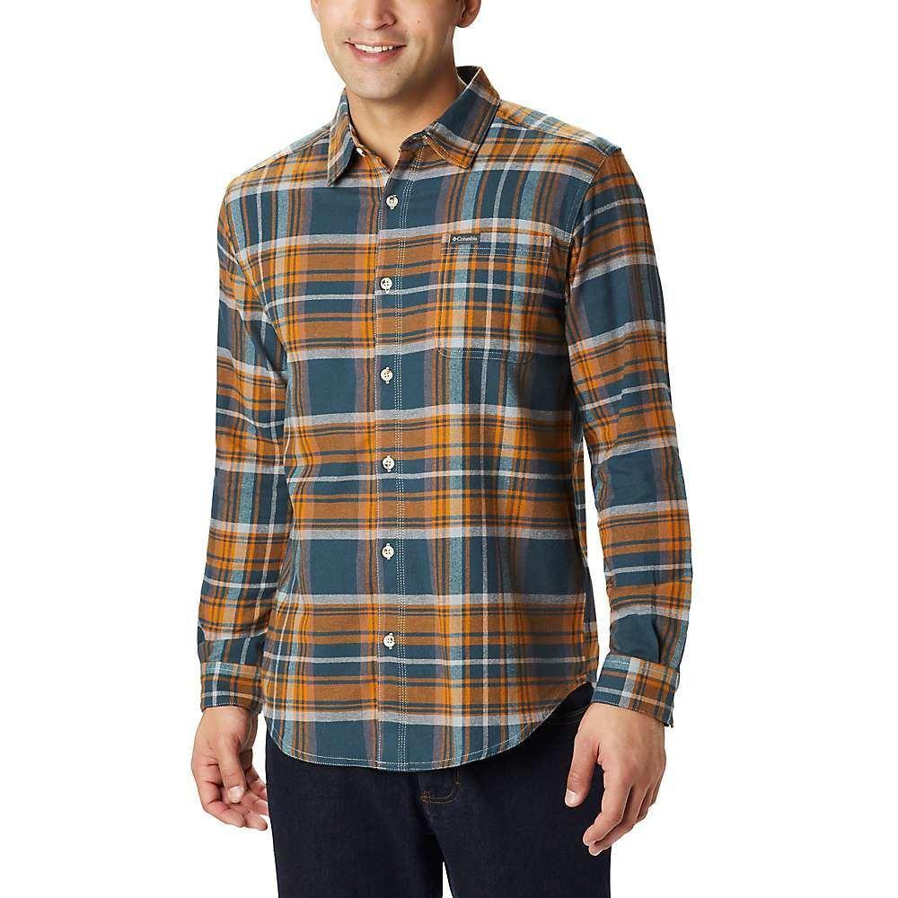 コロンビア Columbia メンズ シャツ トップス【boulder ridge long sleeve flannel】Night Shadow Multi Tartan