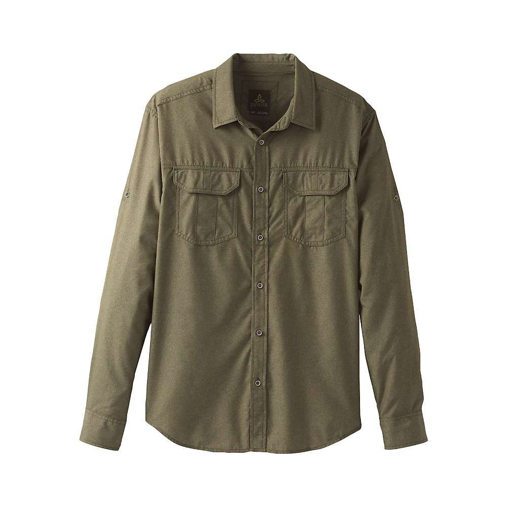 プラーナ Prana メンズ シャツ トップス【citadel ls shirt】Cargo Green