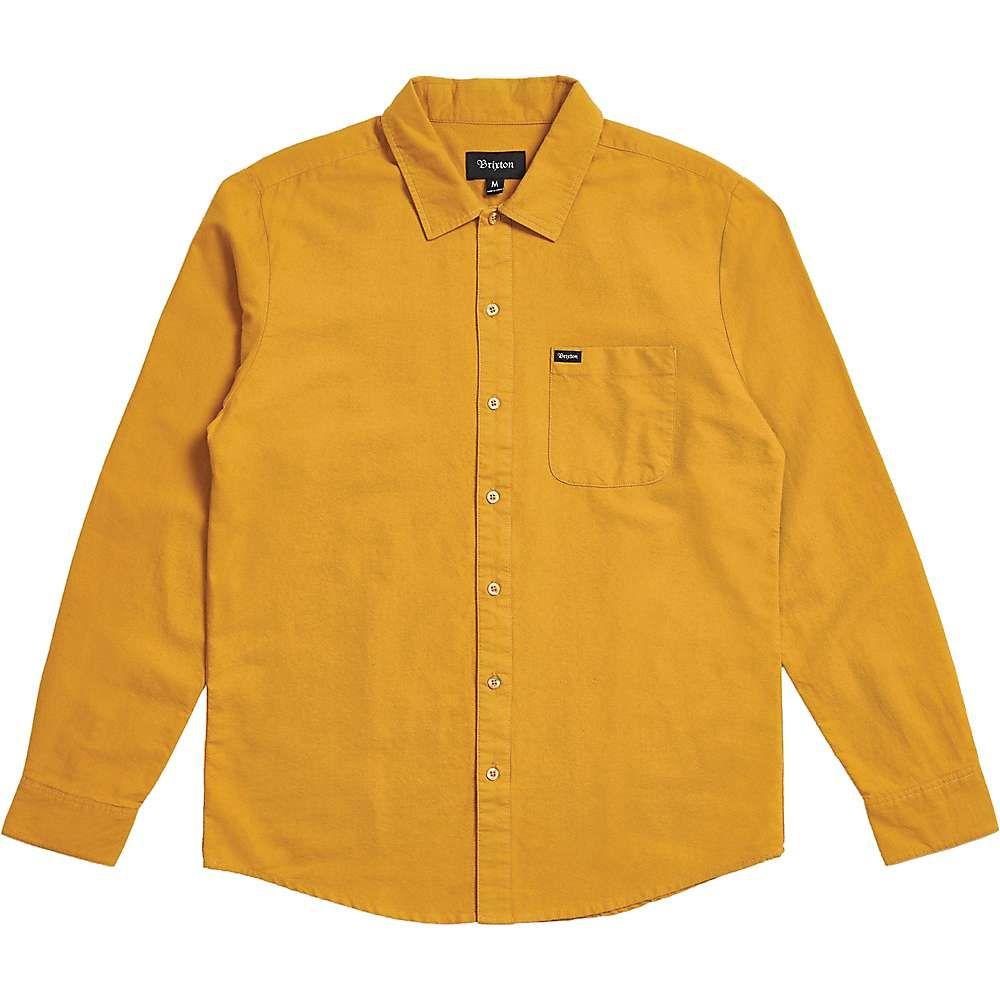 ブリクストン Brixton メンズ シャツ トップス【charter oxford ls shirt】Maize