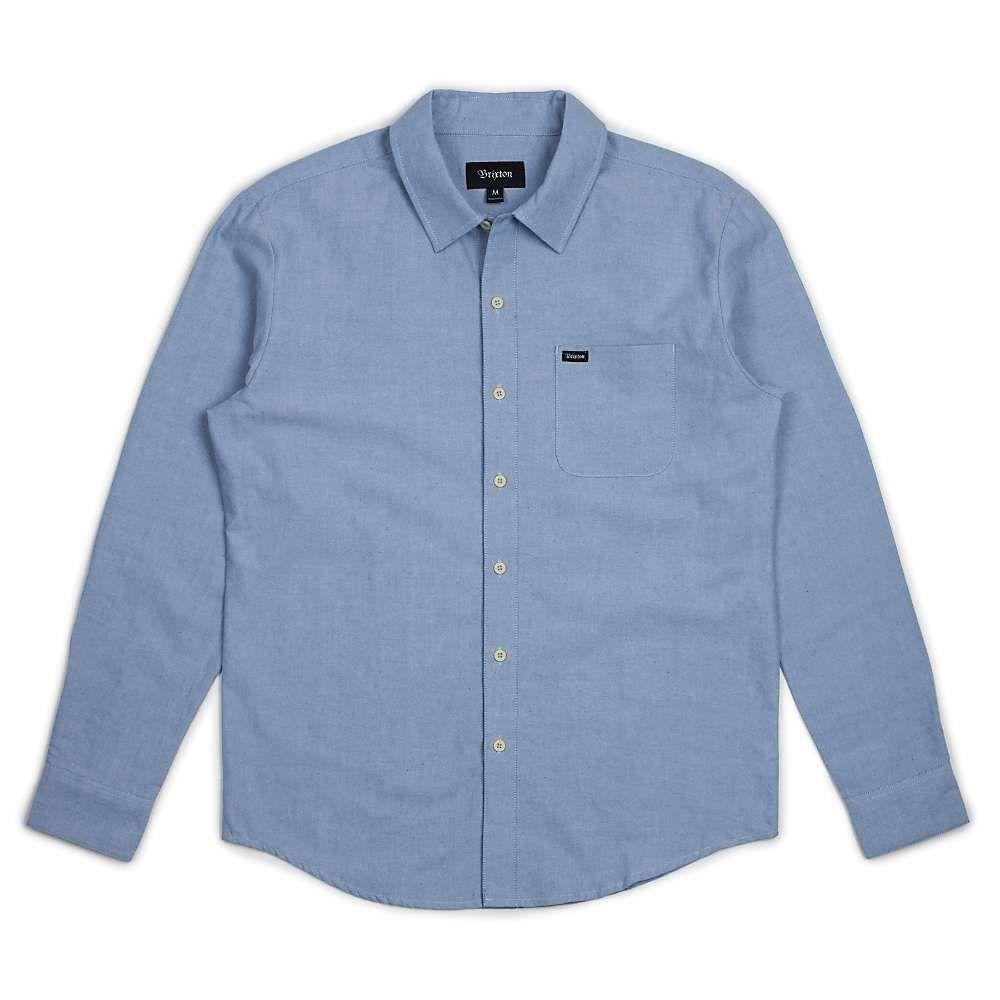 ブリクストン Brixton メンズ シャツ トップス【charter oxford ls shirt】Light Blue Chambray