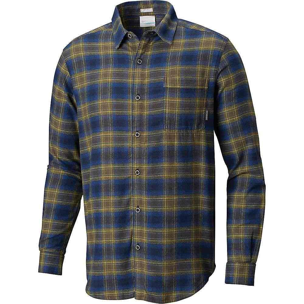 コロンビア Columbia メンズ シャツ フランネルシャツ トップス【boulder ridge ls flannel shirt】Collegiate Navy Pop Plaid