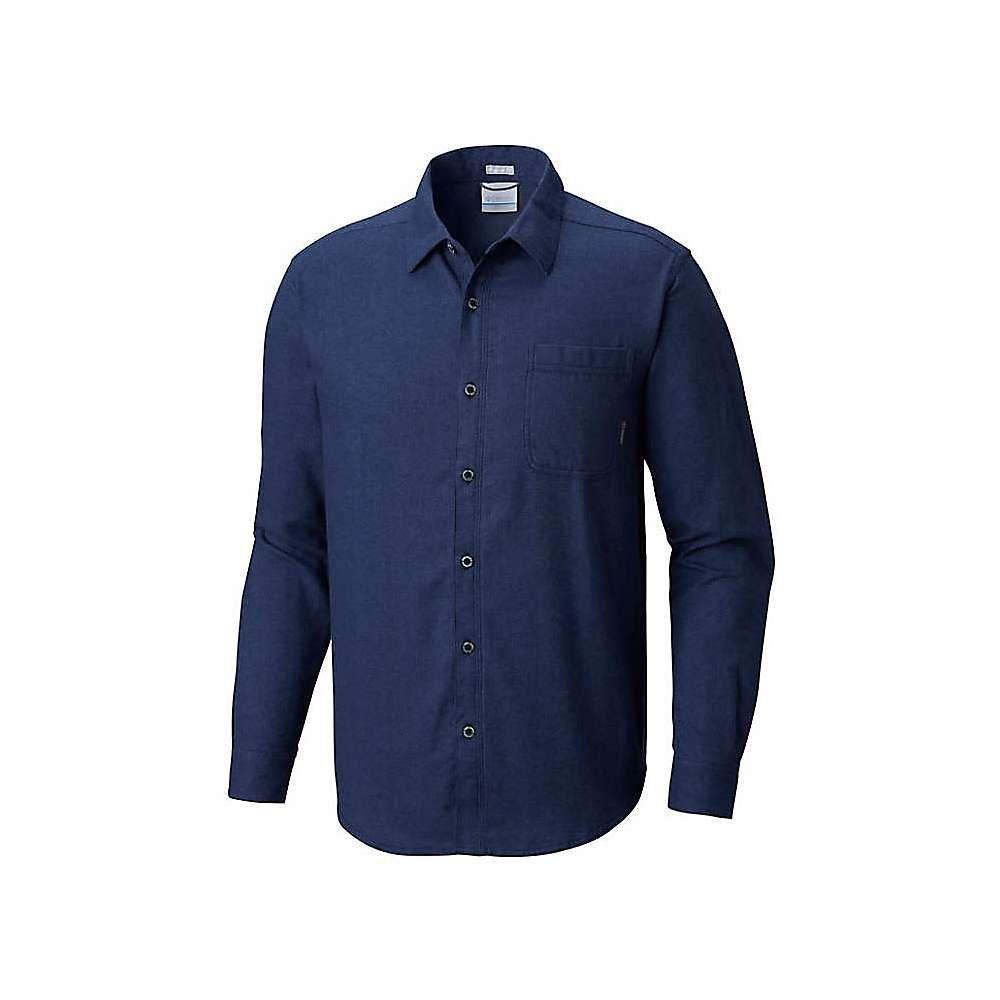コロンビア Columbia メンズ シャツ フランネルシャツ トップス【boulder ridge ls flannel shirt】Collegiate Navy Chambray