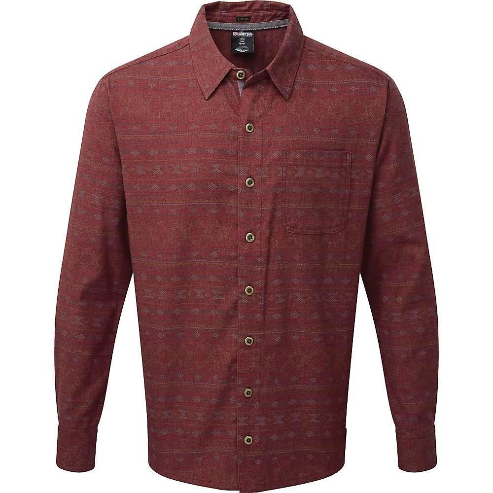 シェルパ Sherpa メンズ シャツ トップス【thimpu shirt】Potala Red