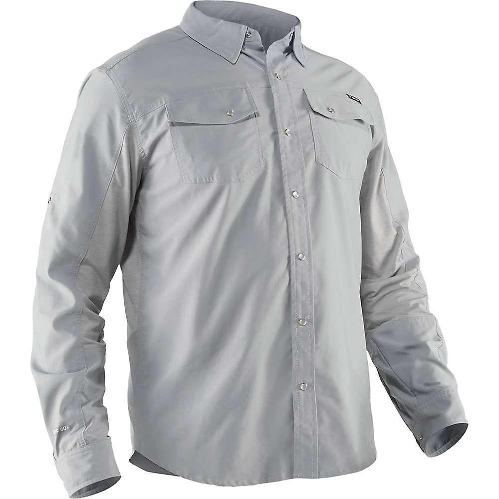 エヌアールエス NRS メンズ シャツ トップス【guide ls shirt】Quarry