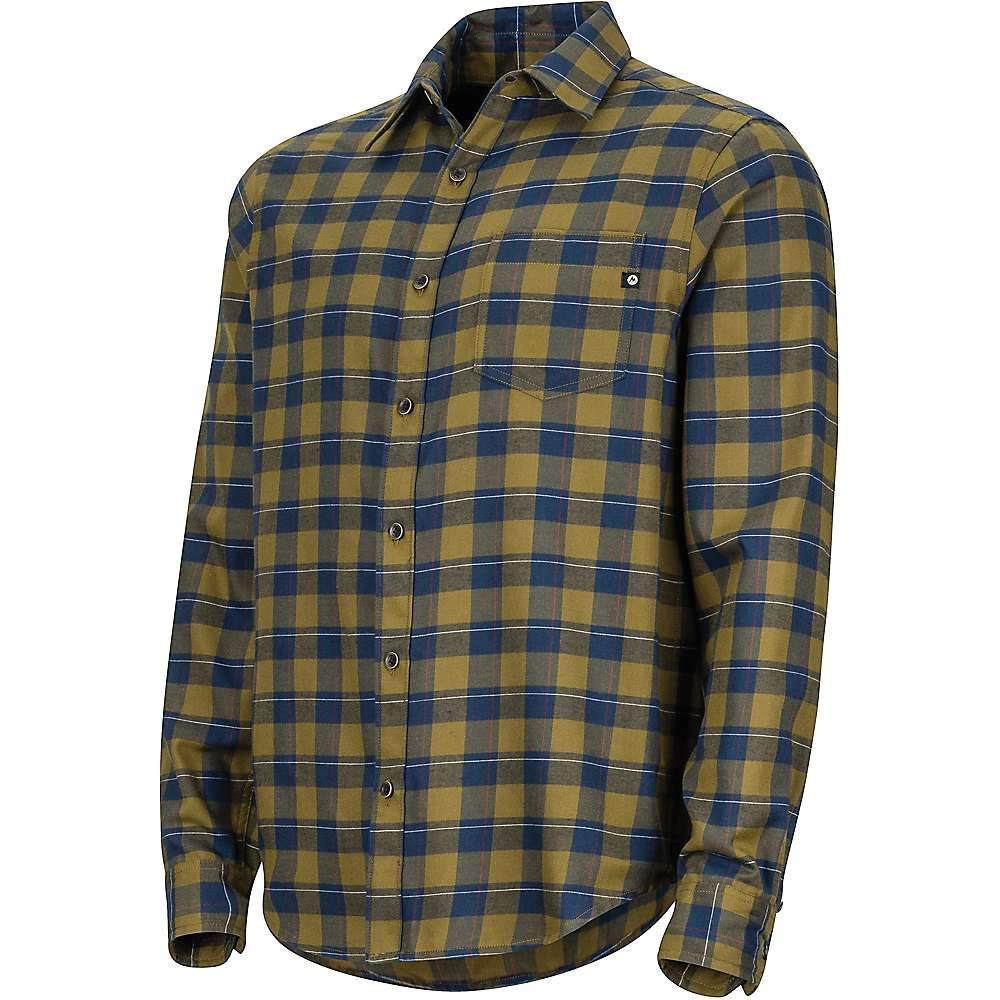 マーモット Marmot メンズ シャツ フランネルシャツ トップス【bodega lightweight flannel ls shirt】Fir Green