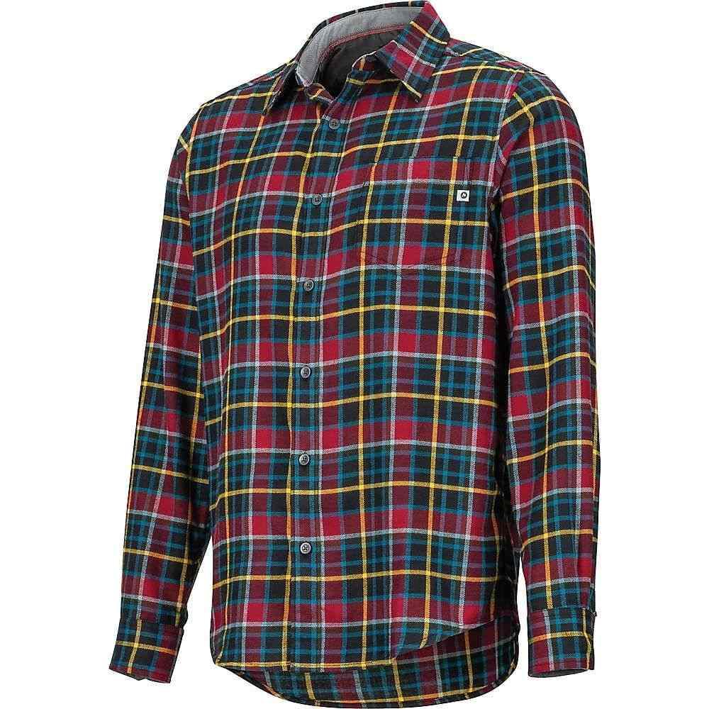 マーモット Marmot メンズ シャツ フランネルシャツ トップス【fairfax midweight flannel ls shirt】Team Red