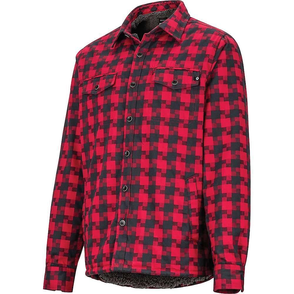 マーモット Marmot メンズ シャツ トップス【ridgefield ls shirt】Brick