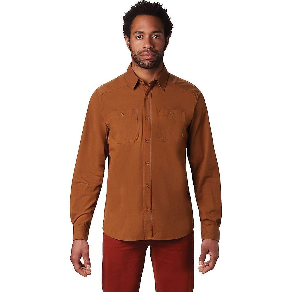 マウンテンハードウェア Mountain Hardwear メンズ シャツ トップス【riveter twill ls shirt】Golden Brown