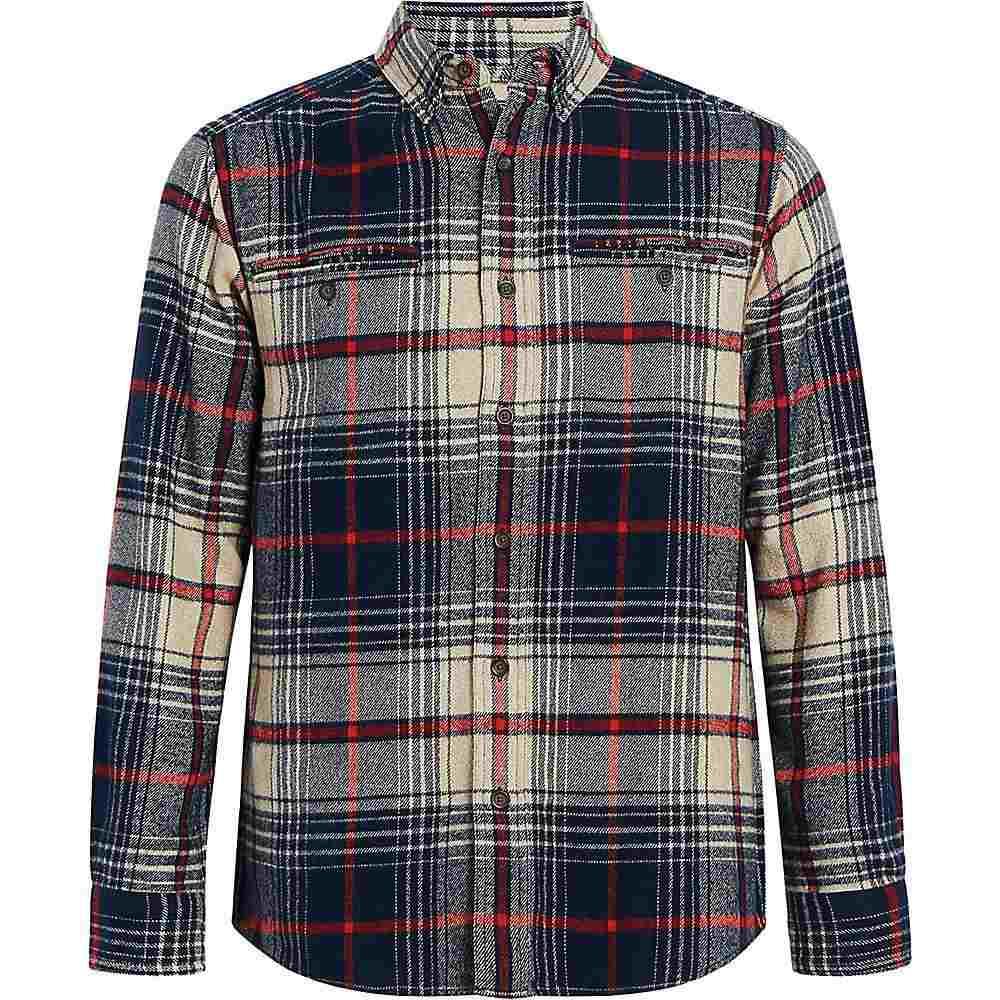 ウールリッチ Woolrich メンズ シャツ トップス【eco rich twisted oxbow shirt】Blue Charcoal Twist