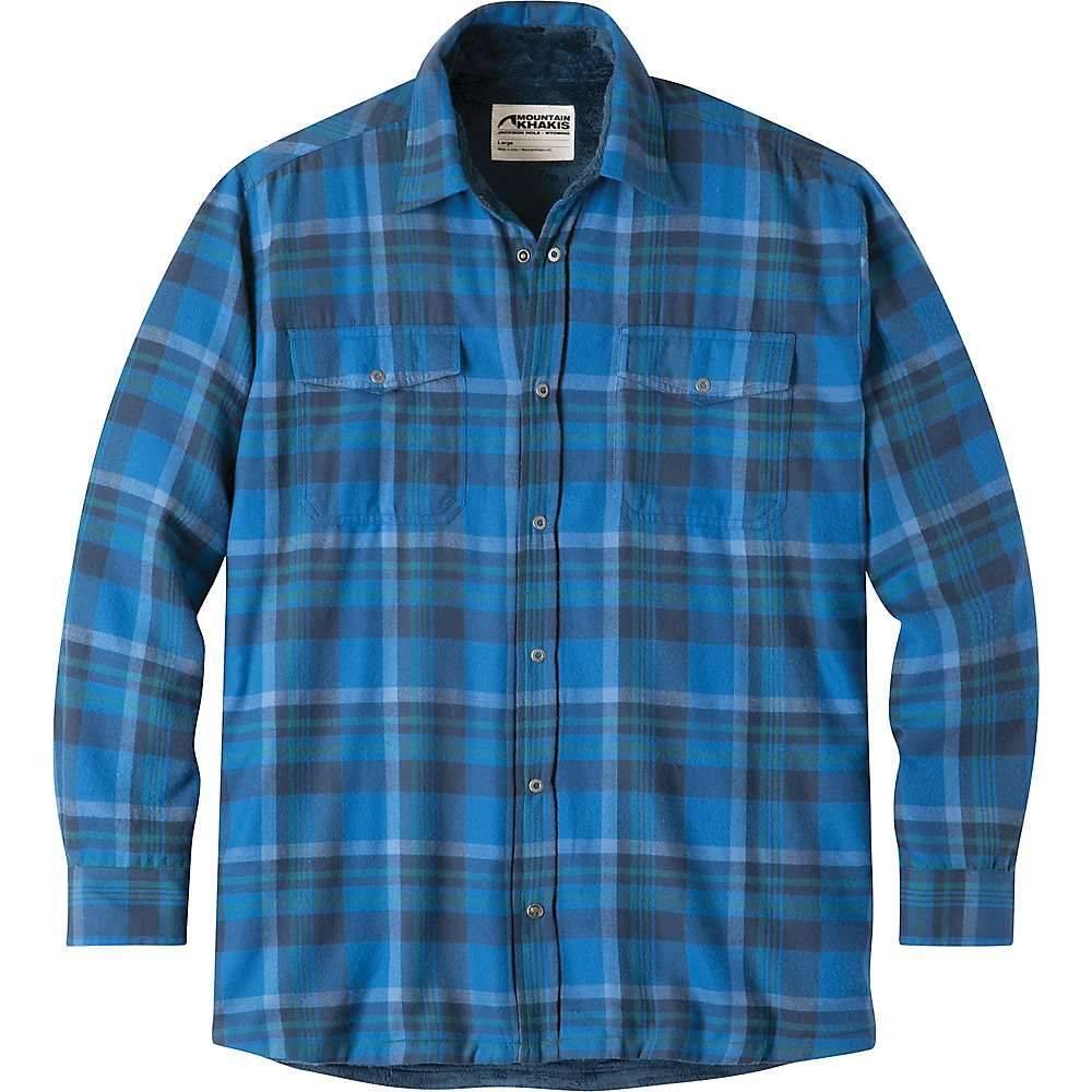 マウンテンカーキス Mountain Khakis メンズ フリース トップス【christopher fleece lined shirt】Cayman Plaid