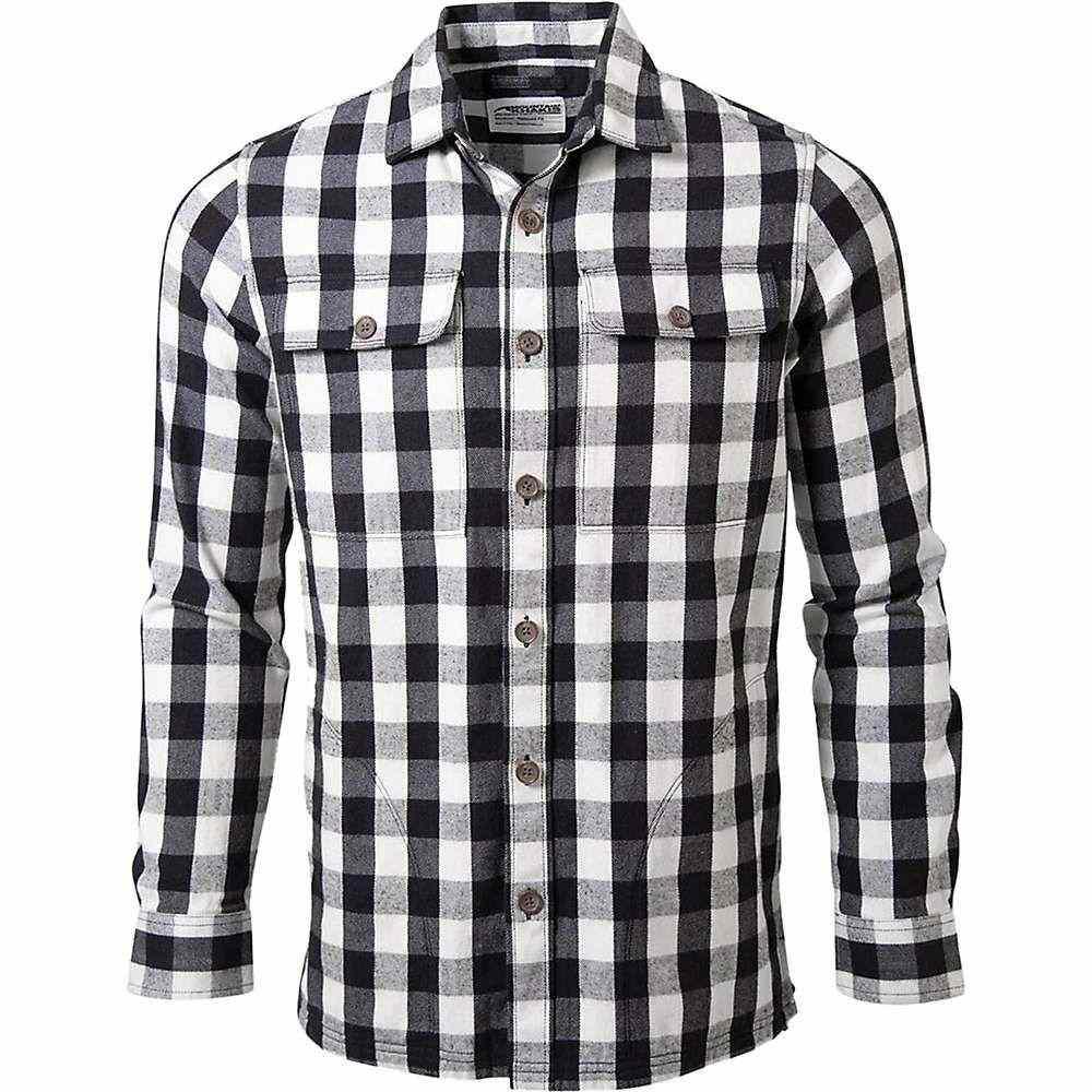 マウンテンカーキス Mountain Khakis メンズ シャツ オーバーシャツ トップス【patrol overshirt】Black Plaid