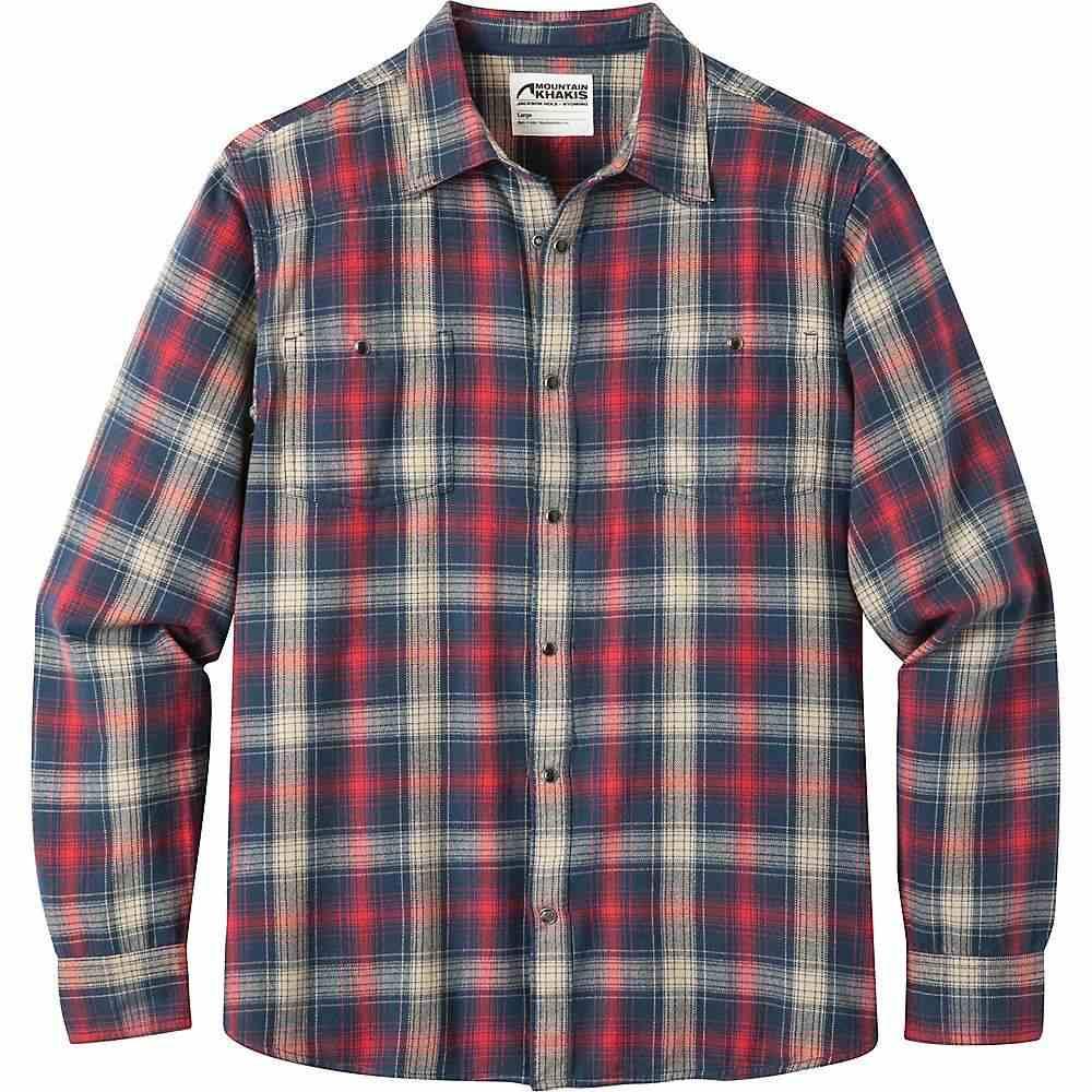 マウンテンカーキス Mountain Khakis メンズ シャツ フランネルシャツ トップス【saloon flannel shirt】Twilight Plaid