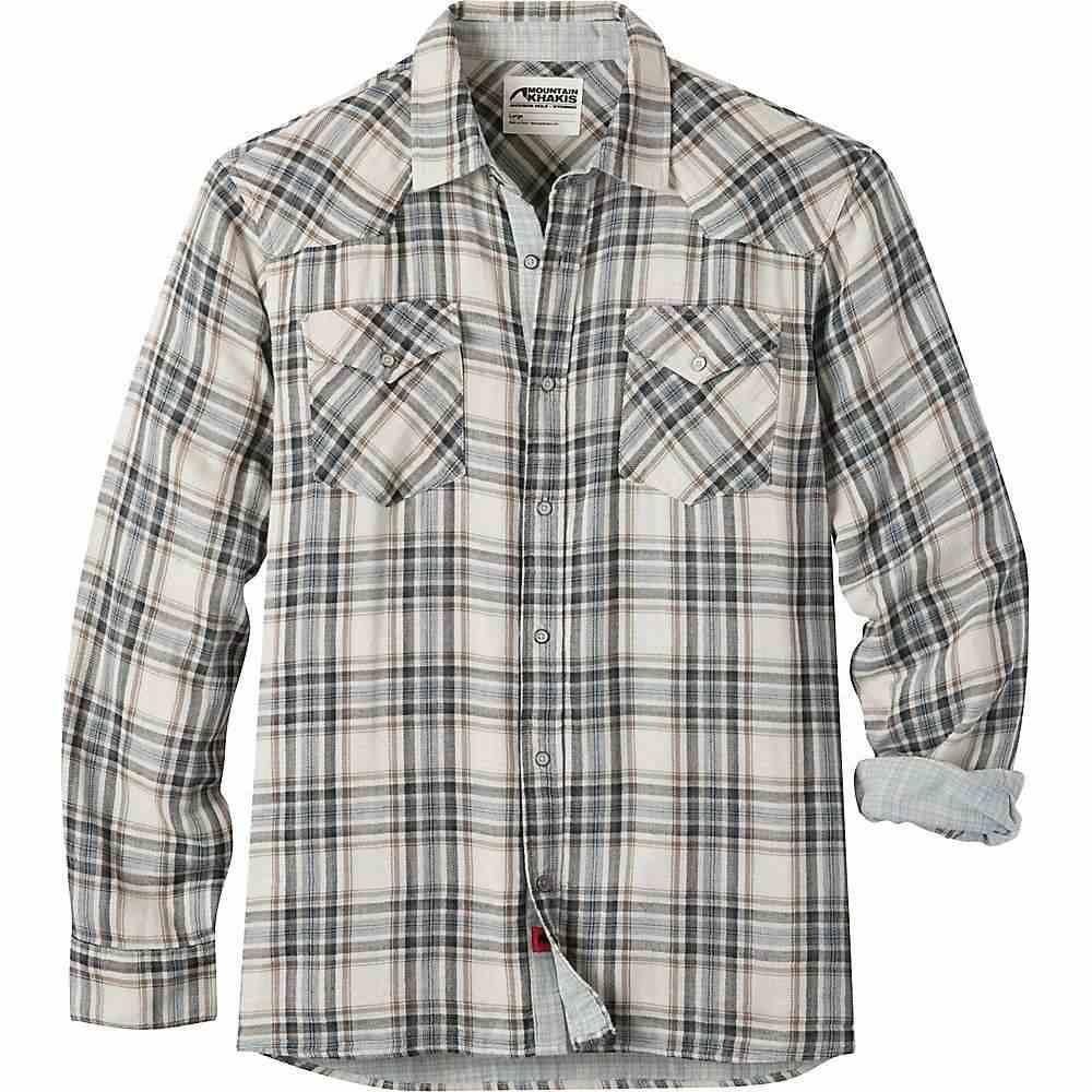 マウンテンカーキス Mountain Khakis メンズ シャツ トップス【sublette shirt】Cream