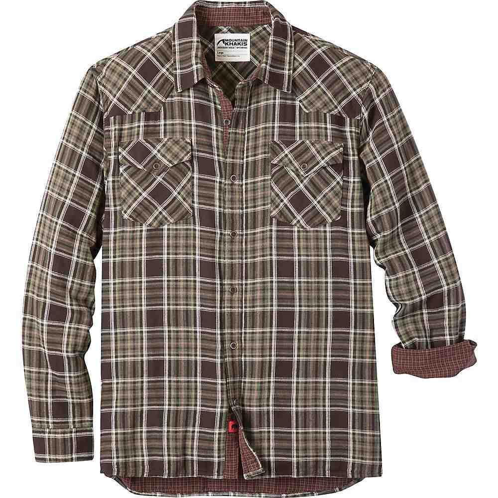 マウンテンカーキス Mountain Khakis メンズ シャツ トップス【sublette shirt】Coffee
