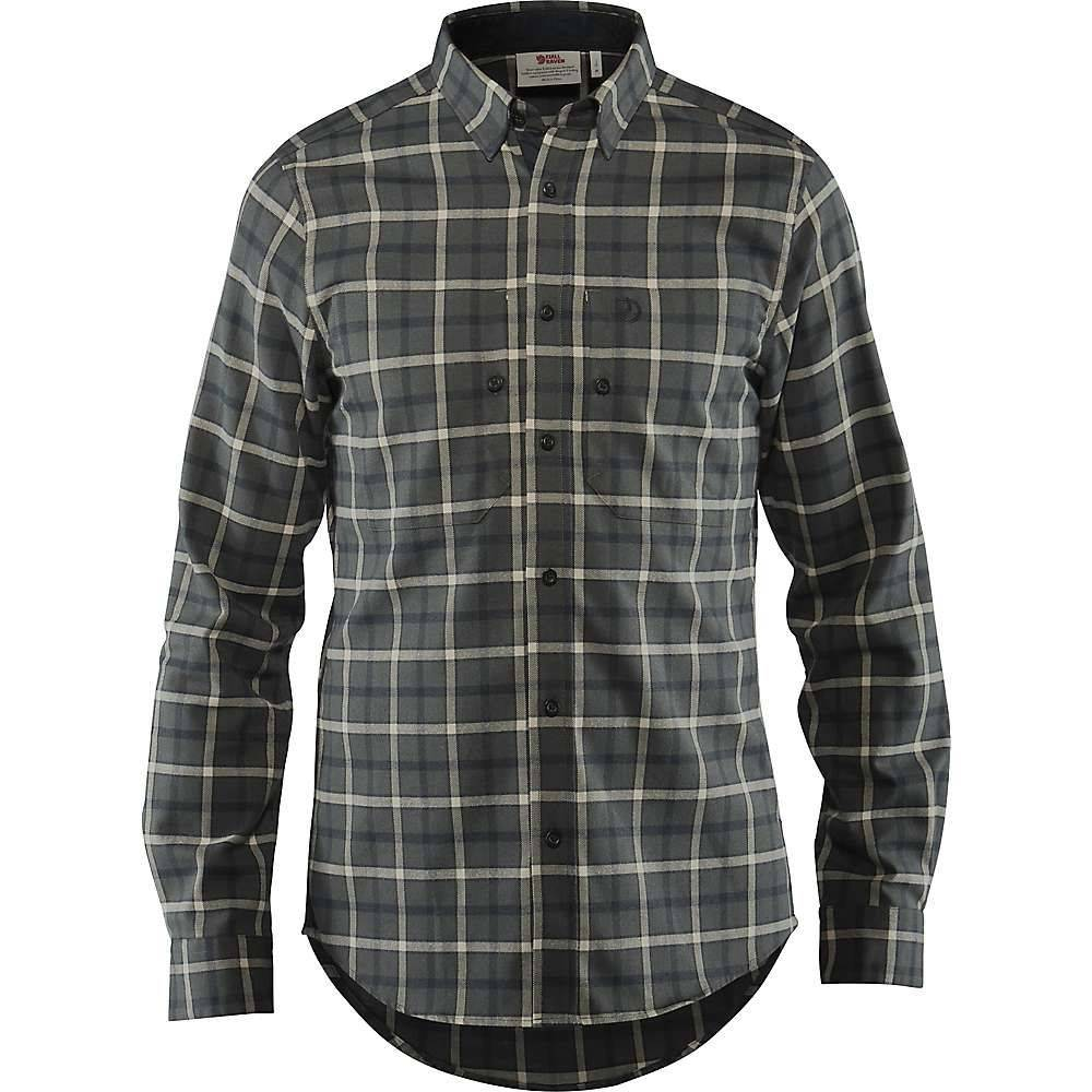 フェールラーベン Fjallraven メンズ シャツ トップス【fjallslim ls shirt】Ash Grey