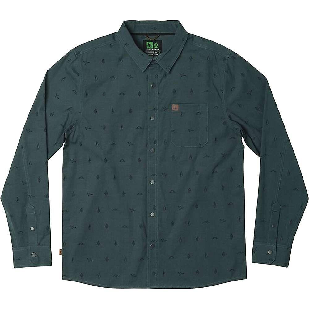 ヒッピーツリー HippyTree メンズ シャツ トップス【token woven shirt】Slate