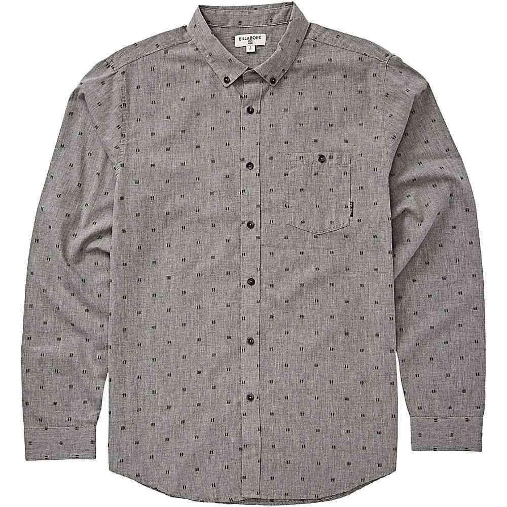 ビラボン Billabong メンズ シャツ トップス【all day jacquard ls shirt】Pewter