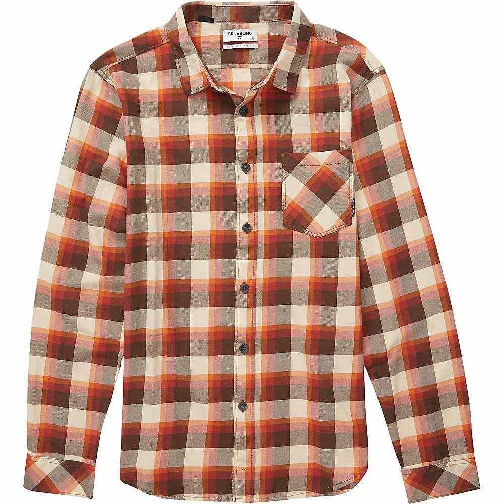 ビラボン Billabong メンズ シャツ フランネルシャツ トップス【freemont flannel shirt】Rust Brown