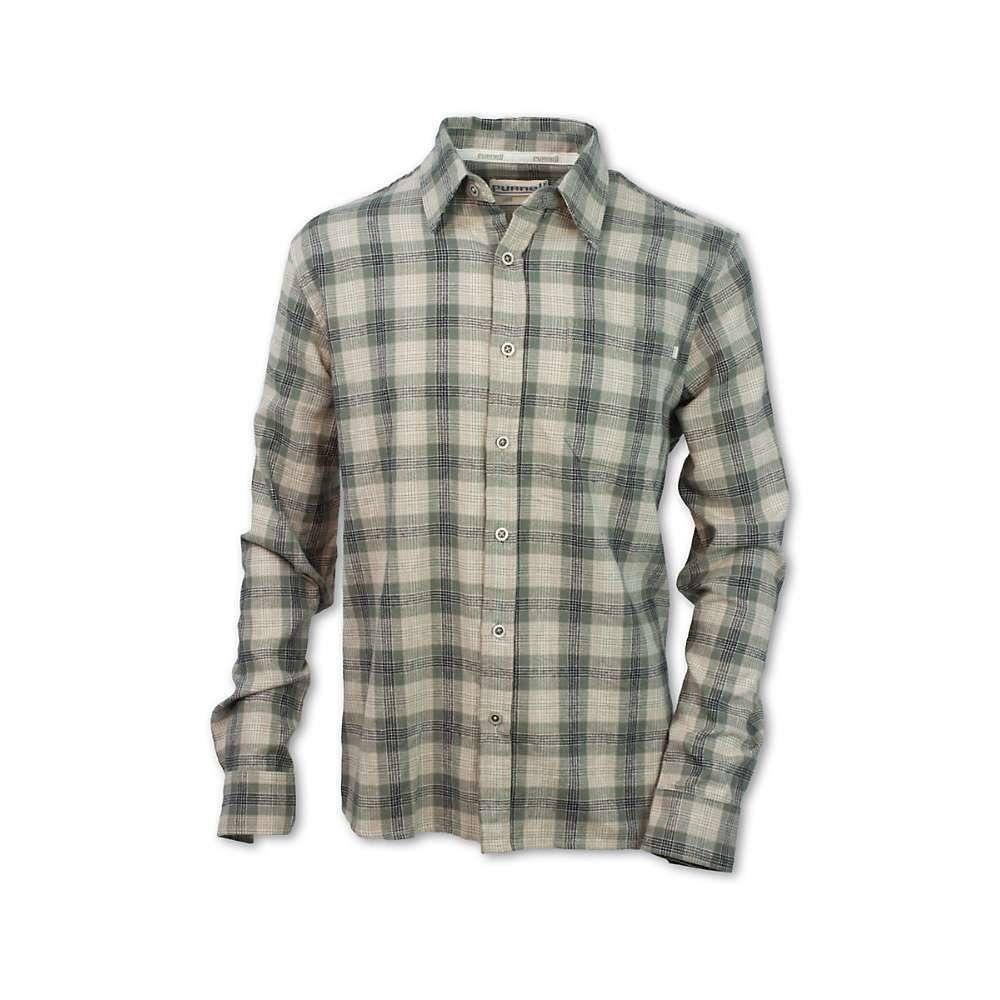 パーネル Purnell メンズ シャツ トップス【sage plaid button up ls shirt】Green