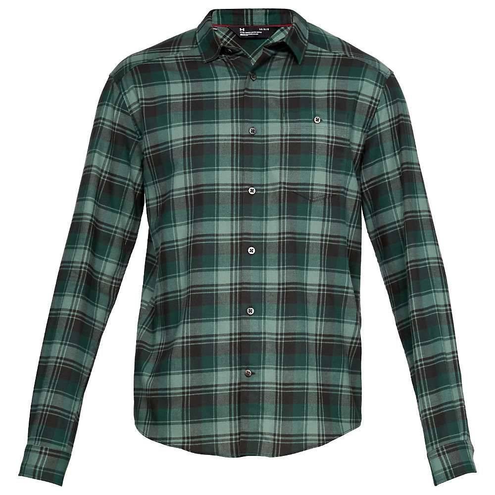 アンダーアーマー Under Armour メンズ シャツ フランネルシャツ トップス【tradesman flannel shirt】Artillery Green/Artillery Green