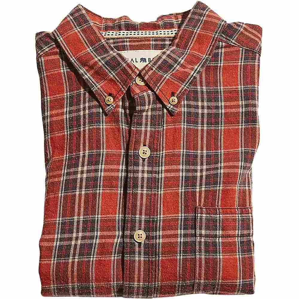 ノーマルブランド The Normal Brand メンズ シャツ トップス【seasons woven shirt】Rust/Navy