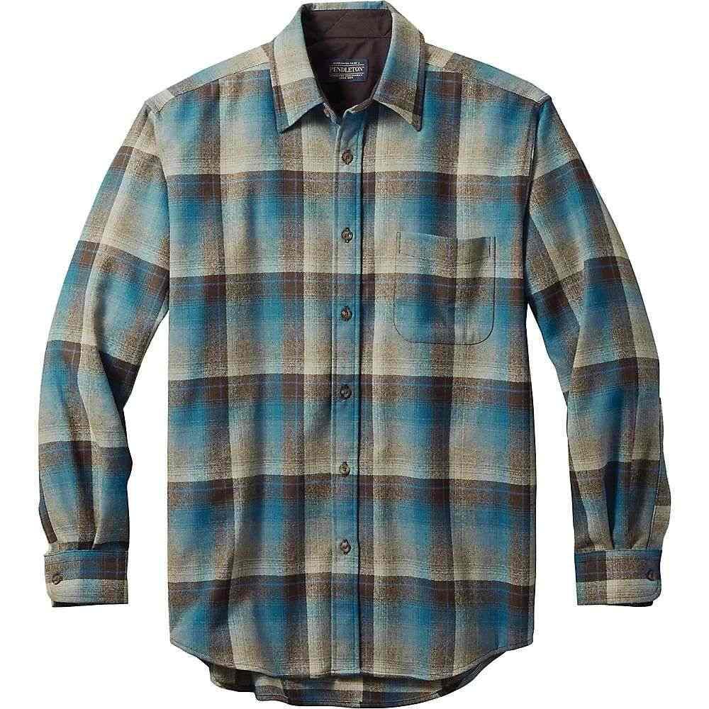 ペンドルトン Pendleton メンズ シャツ トップス【long sleeve lodge shirt】Brown/Blue Ombre
