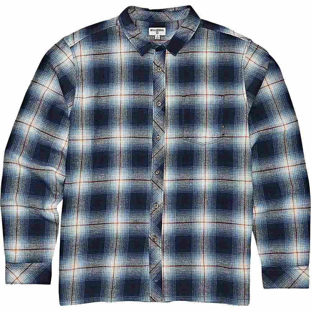 ビラボン Billabong メンズ シャツ トップス【coastline long sleeve shirt】Blue