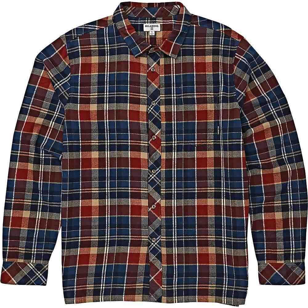 ビラボン Billabong メンズ シャツ トップス【coastline long sleeve shirt】Dark Blue