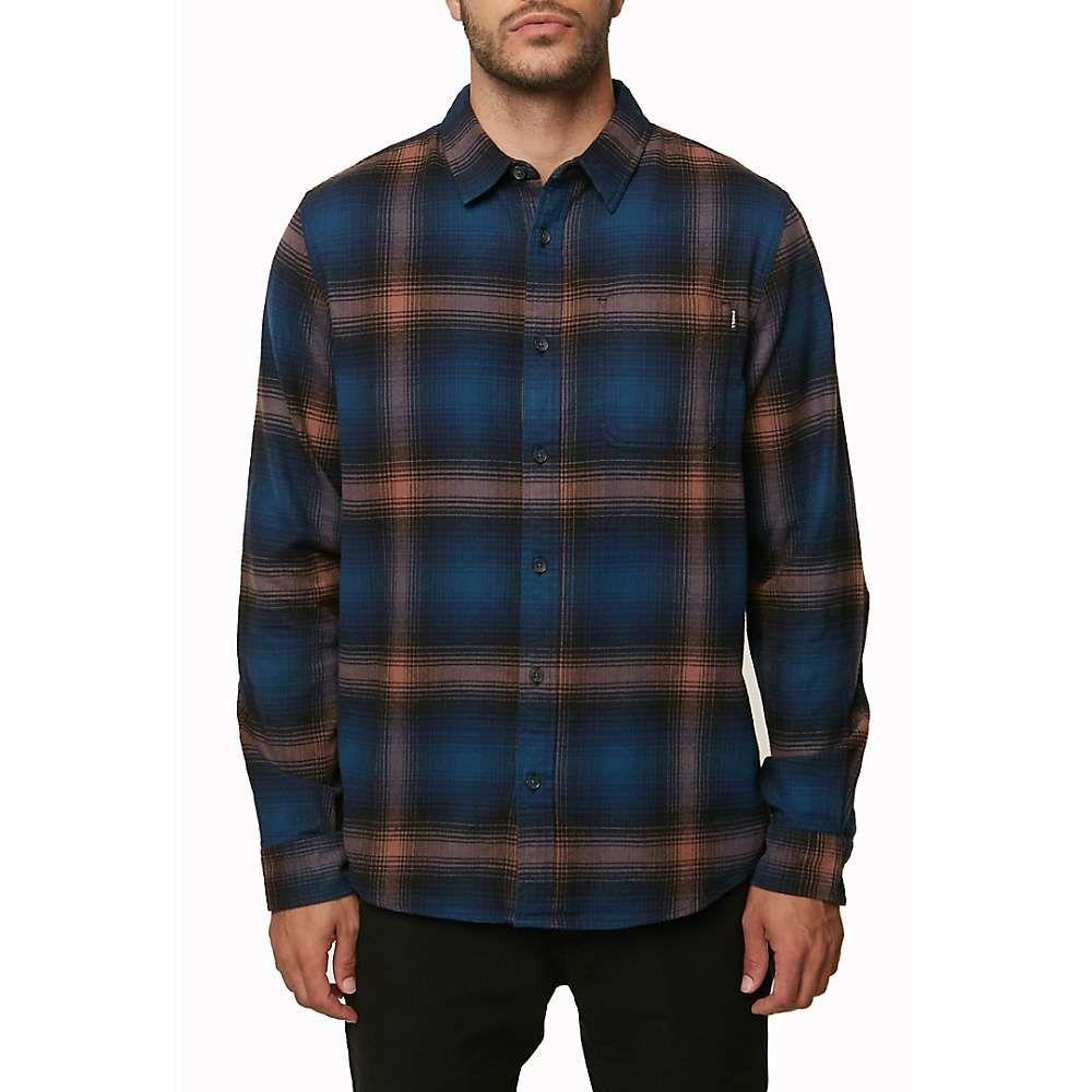 オニール Oneill メンズ シャツ フランネルシャツ トップス【o'neill dillishaw flannel shirt】Navy