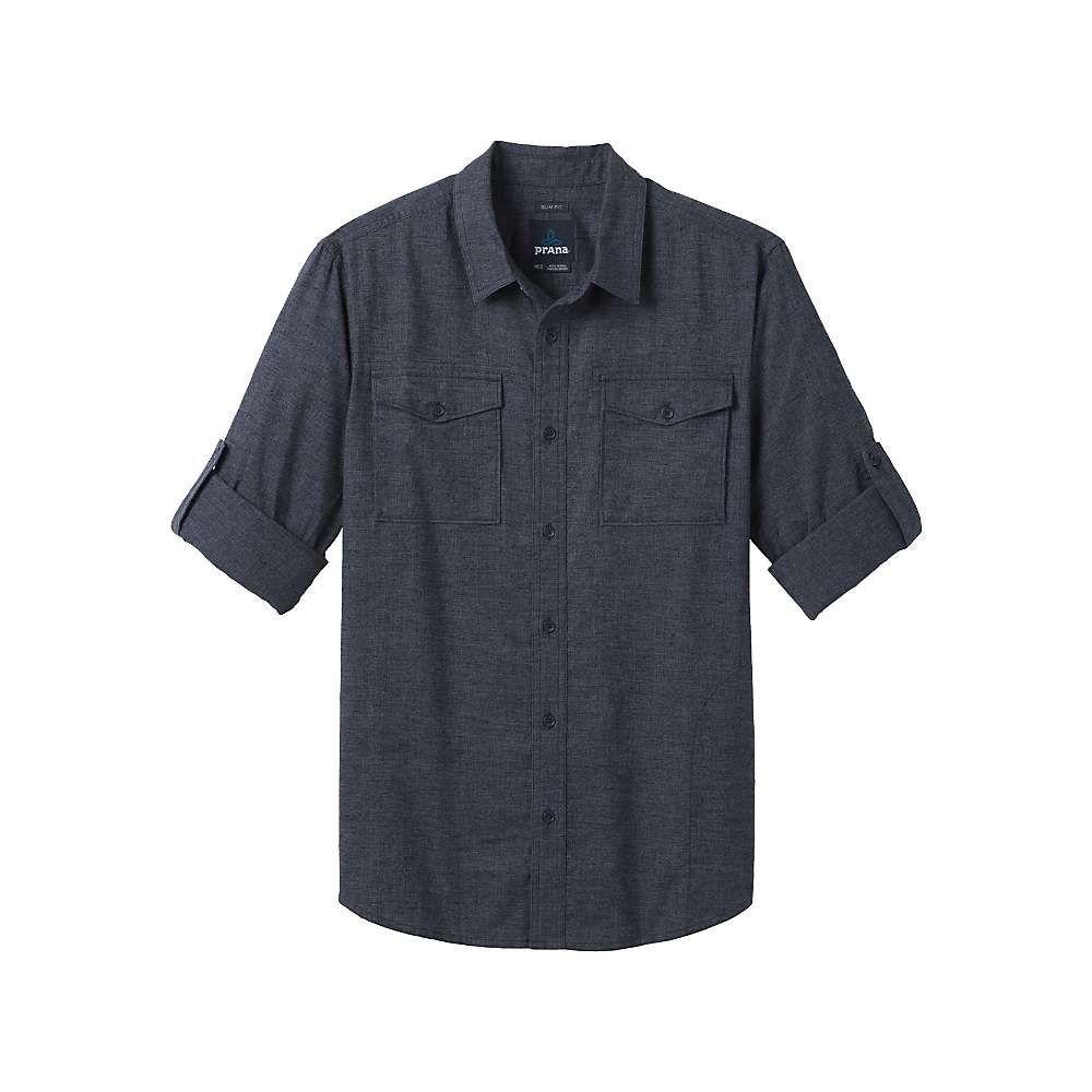 プラーナ Prana メンズ シャツ トップス【merger ls shirt】Nautical