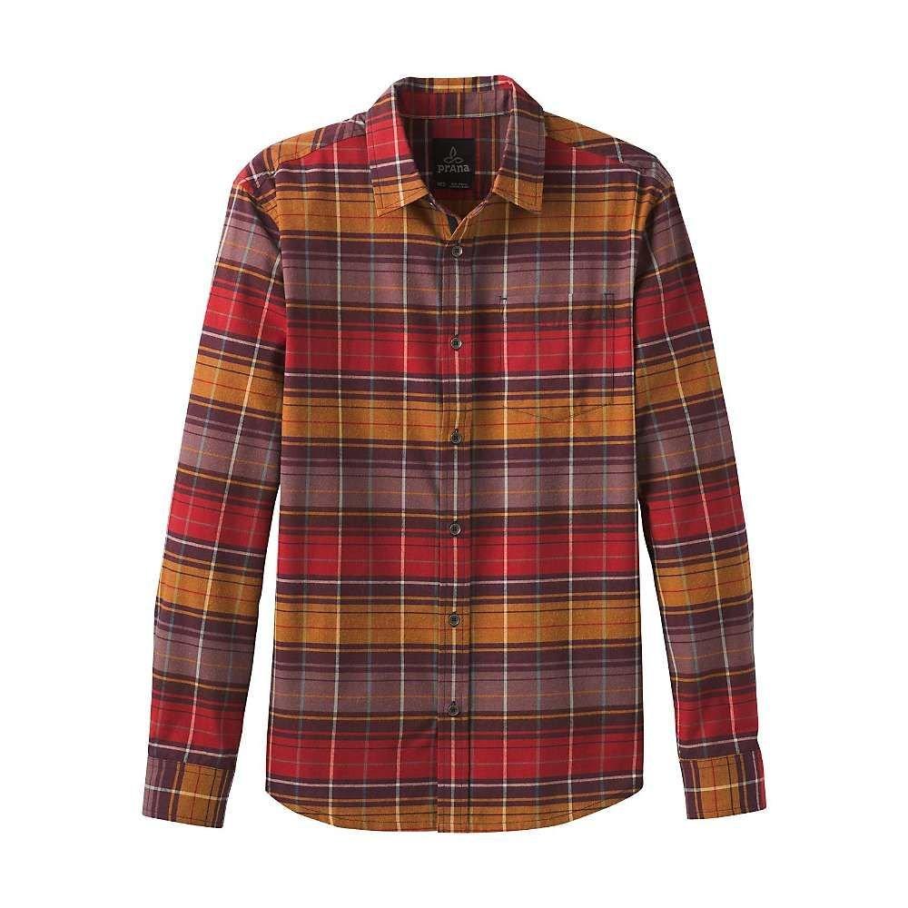 プラーナ Prana メンズ シャツ フランネルシャツ トップス【wyndwell flannel shirt】Camp Fire
