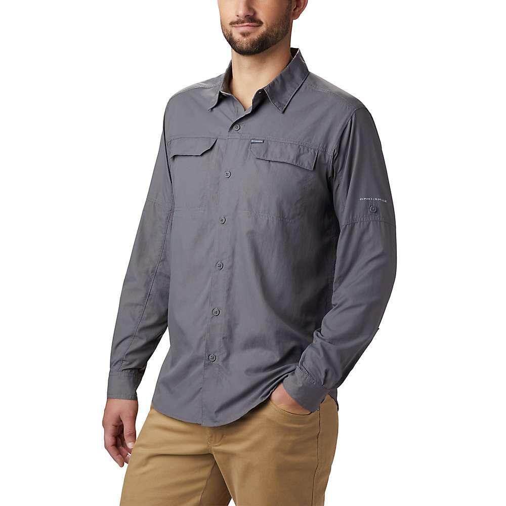 コロンビア Columbia メンズ シャツ トップス【silver ridge2.0 ls shirt】City Grey